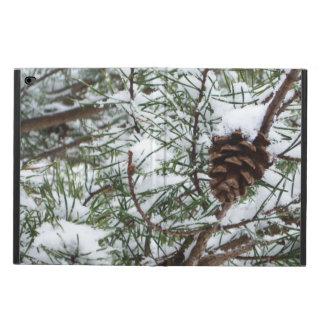 Funda Para iPad Air 2 Fotografía de la naturaleza del invierno del cono