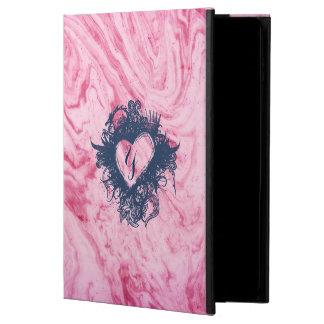 Funda Para iPad Air 2 hermoso elegante del modelo de mármol rosado de la