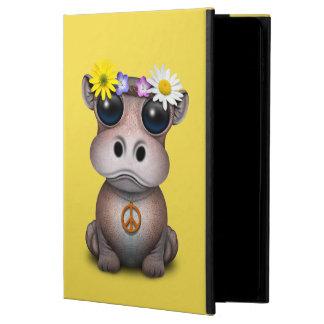 Funda Para iPad Air 2 Hippie lindo del hipopótamo del bebé
