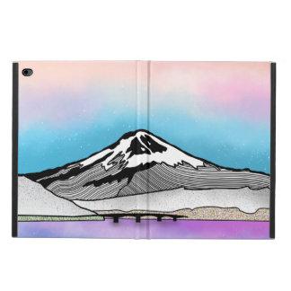 Funda Para iPad Air 2 Ilustracion del paisaje del Mt Fuji Japón