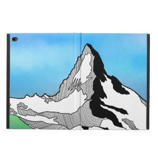 Funda Para iPad Air 2 Línea acuarela de Cervino Suiza del arte