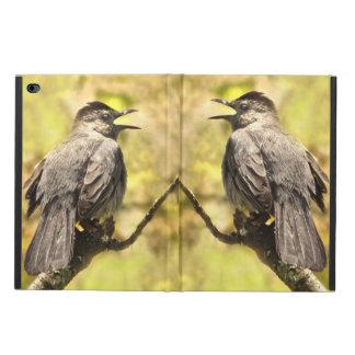 Funda Para iPad Air 2 Los Catbirds grises del canto iPad de Powis