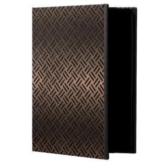FUNDA PARA iPad AIR 2 METAL NEGRO DEL MÁRMOL WOVEN2 Y DEL BRONCE (R)