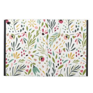 Funda Para iPad Air 2 Modelo botánico colorido de las hojas y de flores