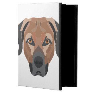 Funda Para iPad Air 2 Perro Brown Labrador del ilustracion