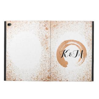 Funda Para iPad Air 2 Regalos de cobre de la colección del boda del