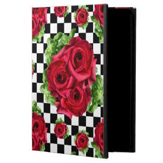 Funda Para iPad Air 2 Rockabilly floral del amor del ramo de los rosas