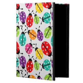 Funda Para iPad Air 2 Señora linda colorida Bug Seamless Pattern