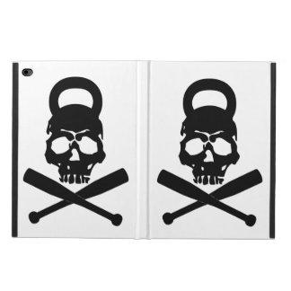 Funda Para iPad Air 2 Skullbell y caja del aire 2 del logotipo IPAD de