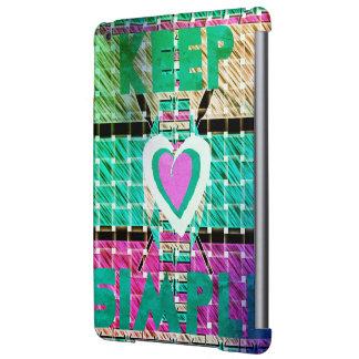 Funda Para iPad Air Agradable y precioso manténgalo simple