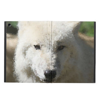 Funda Para iPad Air Animales polivinílicos - lobo