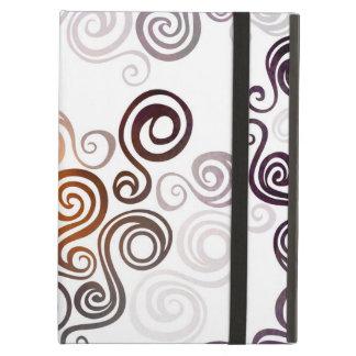 Funda Para iPad Air Arte que remolina púrpura maravilloso
