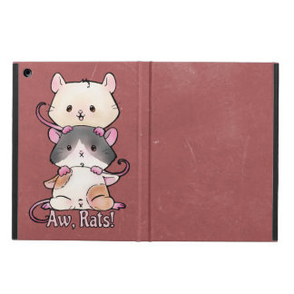 Funda Para iPad Air ¡Aw, ratas!