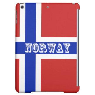 Funda Para iPad Air Bandera del escandinavo de Noruega