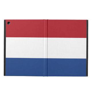 Funda Para iPad Air Bandera nacional de los Países Bajos, Holanda,