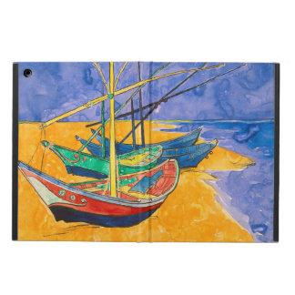 Funda Para iPad Air Barcos de Van Gogh en la playa de Saintes-Maries