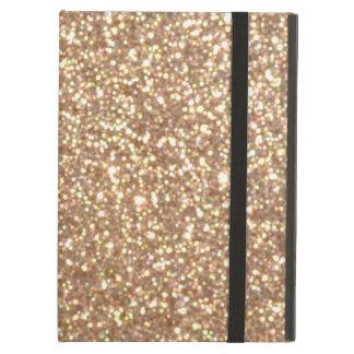 Funda Para iPad Air Brillo metálico del oro color de rosa de cobre