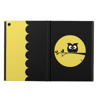 Funda Para iPad Air Búho lindo de Halloween + colores de fondo