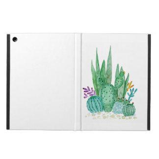 Funda Para iPad Air Cactus, acuarela