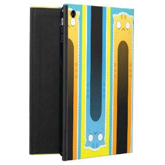 Funda Para iPad Air Caja azul del aire del iPad del modelo rayado del