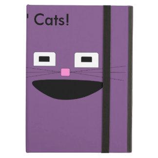 Funda Para iPad Air Caja del aire de Ipad de los gatos del n de los