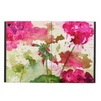 Funda Para iPad Air caja floral abstracta del aire del ipad