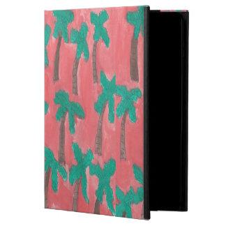 Funda Para iPad Air Caja tropical del aire del iPad de las palmeras