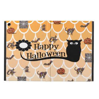 Funda Para iPad Air Caso de Ipad del emoji de Halloween