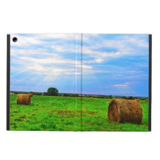 Funda Para iPad Air Caso del iPad de la escena de la granja