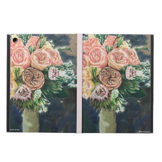 Funda Para iPad Air Caso pintado a mano del iPad del ramo floral