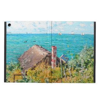 Funda Para iPad Air Claude Monet la cabina en la bella arte del