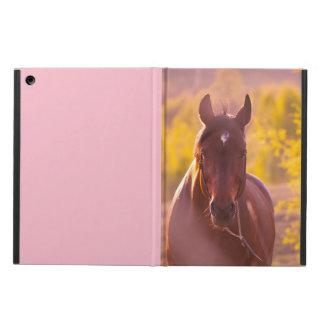 Funda Para iPad Air colección del caballo. otoño