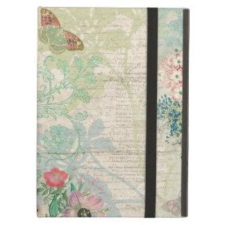 Funda Para iPad Air Collage floral del vintage