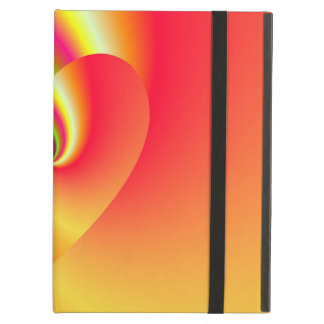 Funda Para iPad Air Corazón del amor del remolino del arco iris