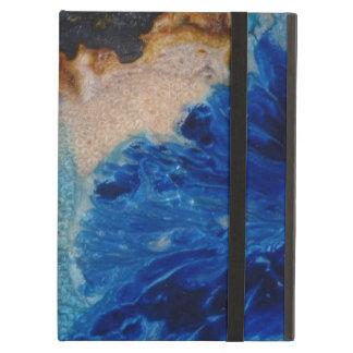 Funda Para iPad Air Derramamiento azul del color