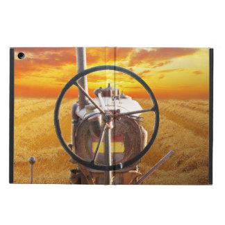 Funda Para iPad Air Diseño del tractor de la puesta del sol