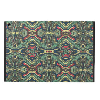 Funda Para iPad Air Diseño rizado dibujado mano colorida abstracta del