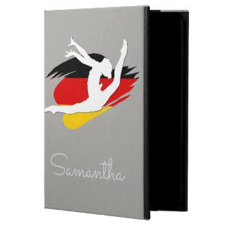 Funda Para iPad Air El bailarín del gimnasta de Alemania personalizó