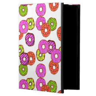 Funda Para iPad Air el buñuelo helado colorido de los anillos de