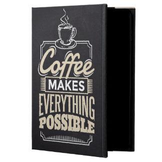 Funda Para iPad Air El café hace todo diseño posible