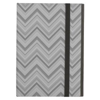 Funda Para iPad Air El gris raya el modelo de zigzag