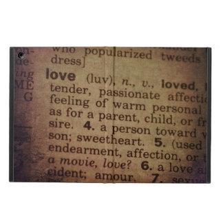 Funda Para iPad Air Encontrando el significado - amor