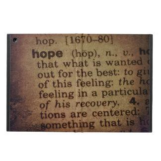 Funda Para iPad Air Encontrando el significado - esperanza