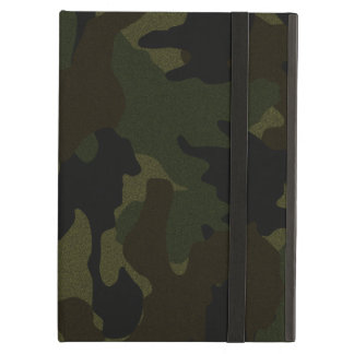 Funda Para iPad Air Falsa caja verde oscuro del aire del iPad del