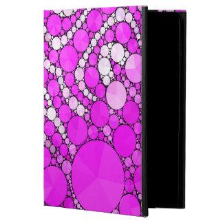 Funda Para iPad Air Favorable caso de la cebra del iPad rosado de