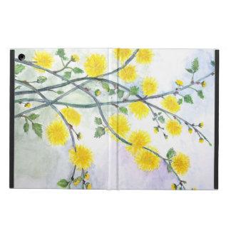 Funda Para iPad Air Flor amarillo dulce