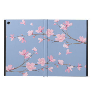 Funda Para iPad Air Flor de cerezo - azul de la serenidad