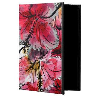 Funda Para iPad Air Flores tropicales del hibisco