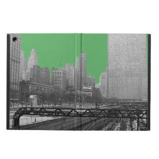 Funda Para iPad Air Foto de los años 60 del ferrocarril del lazo de