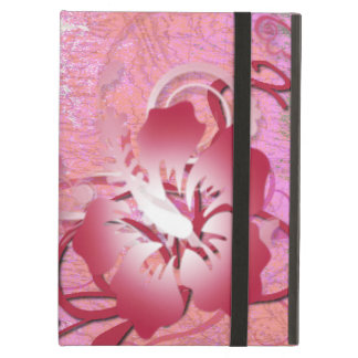 Funda Para iPad Air Hibisco rosado
